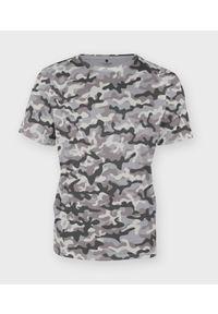 Szary t-shirt MegaKoszulki moro