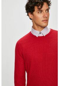 Czerwony sweter medicine na co dzień, casualowy #6