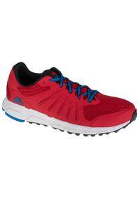 Czerwone buty trekkingowe columbia z cholewką