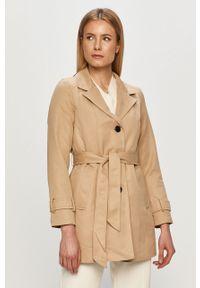 Płaszcz Vero Moda gładki, bez kaptura, na co dzień