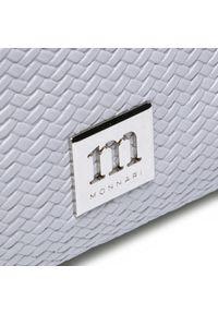 Monnari - Torebka MONNARI - BAG1420-019 Grey. Kolor: szary. Materiał: skórzane. Styl: klasyczny