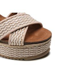 Refresh - Sandały REFRESH - 72728 Beige. Okazja: na co dzień, na spacer. Kolor: beżowy. Materiał: materiał. Sezon: lato. Styl: casual