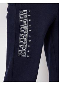 Niebieskie spodnie dresowe Napapijri