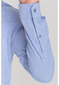 Niebieska koszula JOOP! Jeans casualowa, na lato