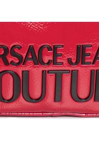 Versace Jeans Couture - Torebka VERSACE JEANS COUTURE - E1VZABP6 71412 MGF. Kolor: czerwony. Materiał: skórzane