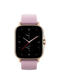 Fioletowy zegarek AMAZFIT smartwatch