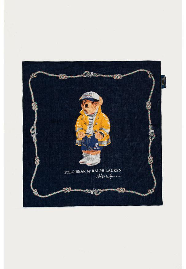 Niebieska chusta Polo Ralph Lauren
