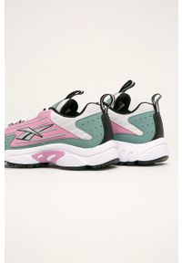 Wielokolorowe buty sportowe Reebok Classic na obcasie, na średnim obcasie, Reebok Classic, na sznurówki