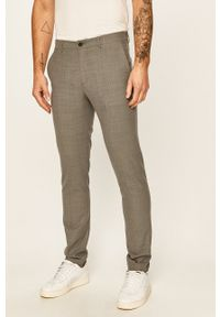 Premium by Jack&Jones - Spodnie 12141112. Kolor: szary. Materiał: tkanina