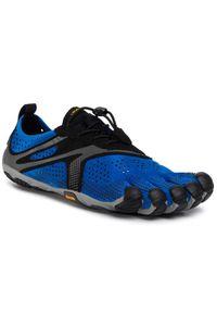 Vibram Fivefingers Buty V-Run 20M7002 Niebieski. Kolor: niebieski. Model: Vibram FiveFingers. Sport: bieganie