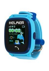 Helmer Wodoodporny zegarek Smart Touch z lokalizatorem GPS LK 704 niebieski. Rodzaj zegarka: cyfrowe. Kolor: niebieski