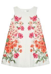 Sukienka Desigual w kolorowe wzory, na co dzień, casualowa