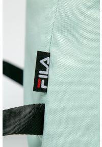 Fila - Plecak. Kolor: zielony. Wzór: paski