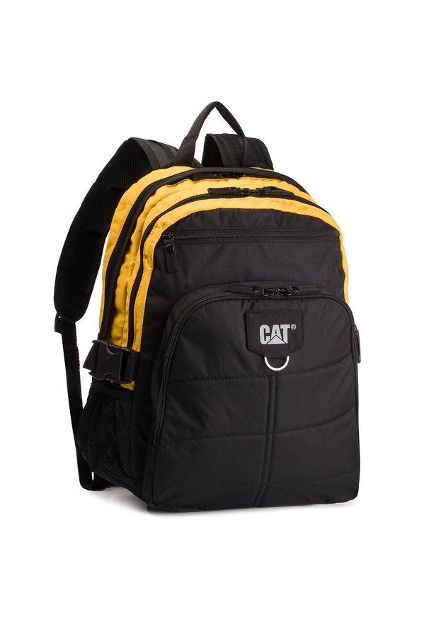 CATerpillar - Plecak CATERPILLAR - Brent 83435 Black/Yellow 12. Kolor: czarny. Materiał: materiał