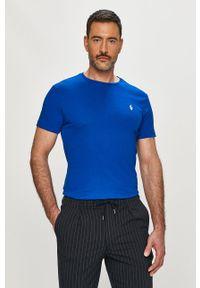 Niebieski t-shirt Polo Ralph Lauren polo, casualowy