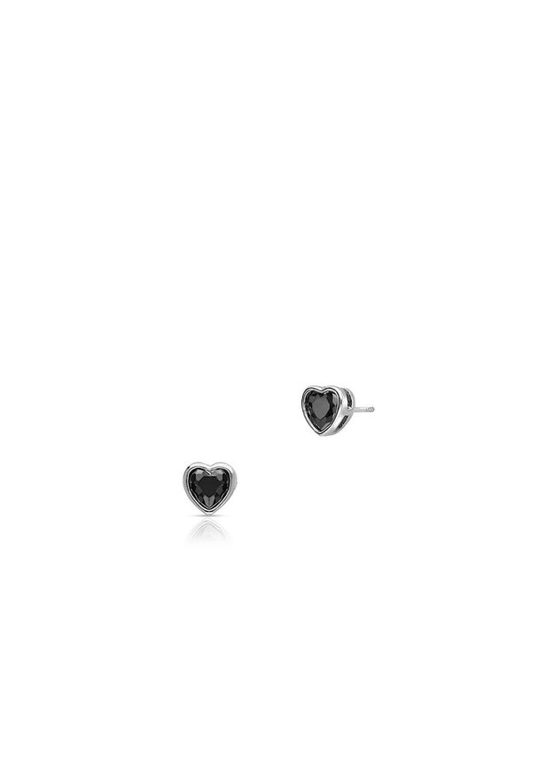 Srebrne kolczyki W.KRUK srebrne, z cyrkonią