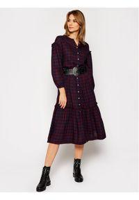 Sukienka koszulowa TOMMY HILFIGER w kolorowe wzory