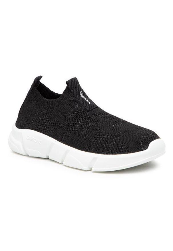 Geox Sneakersy J Aril G. A J02DLA 0007Q C9999 Czarny. Kolor: czarny