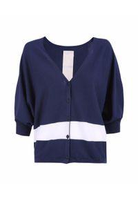 Niebieski sweter North Sails długi, na lato, sportowy
