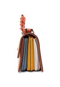 Pomarańczowa torebka klasyczna Nobo klasyczna