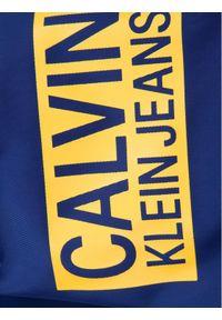 Calvin Klein Jeans Kurtka puchowa Stamp Logo IB0IB00375 Granatowy Regular Fit. Kolor: niebieski. Materiał: puch #5
