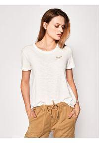Biały t-shirt Roxy