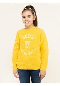 Żółty sweter Guess