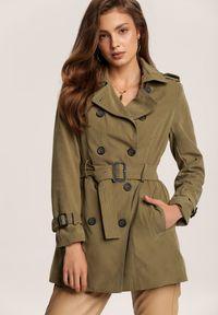 Zielony płaszcz Renee