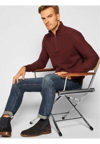 Czerwony sweter klasyczny Polo Ralph Lauren polo
