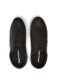 Jack & Jones - Sneakersy JACK&JONES - Jfwhalo 12182046 Java. Okazja: na co dzień. Kolor: brązowy. Materiał: skóra ekologiczna, materiał. Szerokość cholewki: normalna. Styl: casual