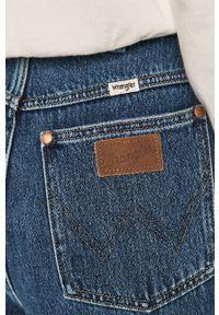 Niebieskie jeansy loose fit Wrangler z podwyższonym stanem #5