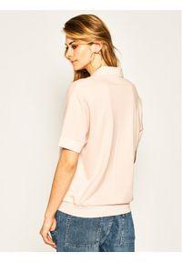 Różowa koszulka polo Lacoste polo
