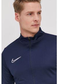Niebieski komplet dresowy Dri-Fit (Nike), gładki