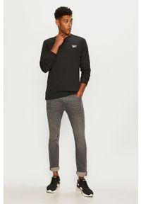 Czarna bluza nierozpinana Reebok Classic na co dzień, casualowa
