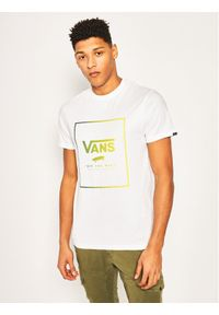 Biały t-shirt Vans z nadrukiem