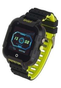 GARETT - Smartwatch Garett Kids 4G Czarny. Rodzaj zegarka: smartwatch. Kolor: czarny. Styl: wakacyjny, klasyczny