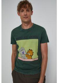 medicine - Medicine - T-shirt bawełniany Licence Mix. Kolor: zielony. Materiał: bawełna. Wzór: nadruk
