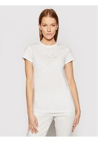 Marella T-Shirt Cuba 39710315 Biały Regular Fit. Kolor: biały