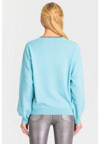 Sweter Pinko z długim rękawem, krótki, na spacer