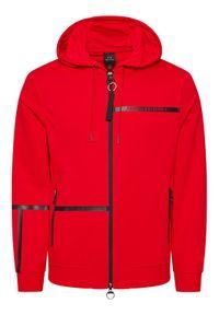 Armani Exchange Bluza 3KZMFD ZJ9FZ 1400 Czerwony Regular Fit. Kolor: czerwony