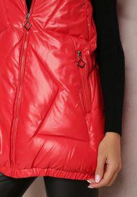 Renee - Czerwona Kamizelka Nyroinne. Okazja: na co dzień. Kolor: czerwony. Materiał: poliester. Styl: casual