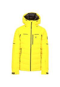 Żółta kurtka narciarska Spyder Gore-Tex