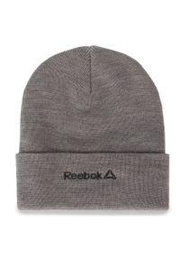 Szara czapka zimowa Reebok