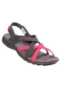 Sandały damskie McKinley Fidji 288351. Zapięcie: pasek. Materiał: materiał, guma, syntetyk. Sezon: lato