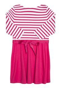 Różowa sukienka Polo Ralph Lauren polo, casualowa, na co dzień