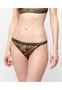 Lilas Majtki Bikini - 40 - Wielokolorowy - Etam. Kolor: wielokolorowy. Materiał: tiul, mikrofibra. Wzór: haft