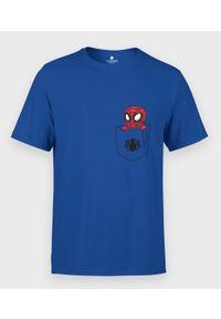 MegaKoszulki - Koszulka męska Kieszonkowy Spiderman. Materiał: bawełna. Wzór: motyw z bajki