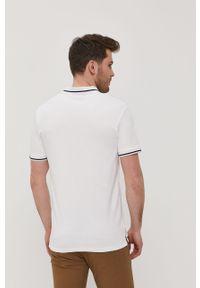 Biała koszulka polo Jack & Jones gładkie, krótka, polo, na co dzień