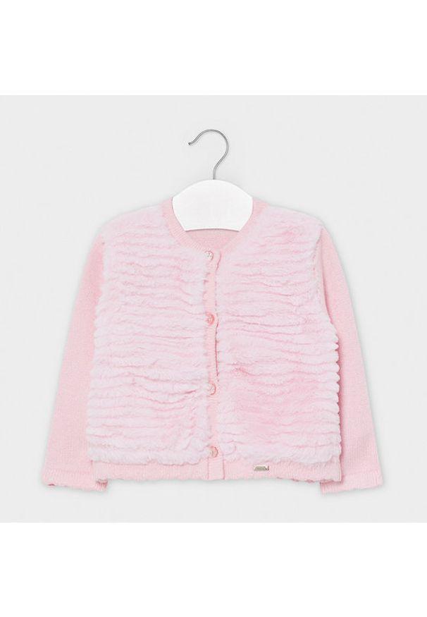 Mayoral Sweter 2359 Różowy Regular Fit. Kolor: różowy