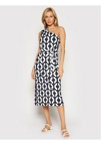 Max Mara Beachwear Sukienka letnia Musica 36210118 Kolorowy Regular Fit. Wzór: kolorowy. Sezon: lato